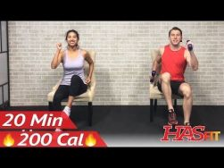 Chair Workout - Quick Chair Exercises (163)