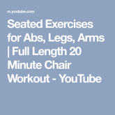 Chair Workout - Quick Chair Exercises (38)