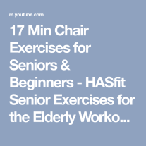 Chair Workout - Quick Chair Exercises (47)