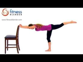 Chair Workout - Quick Chair Exercises (85)