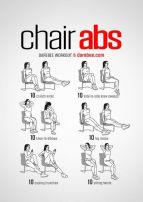 Chair Workout - Quick Chair Exercises (98)