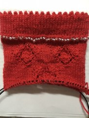 sock madness round 2 - top of cuff