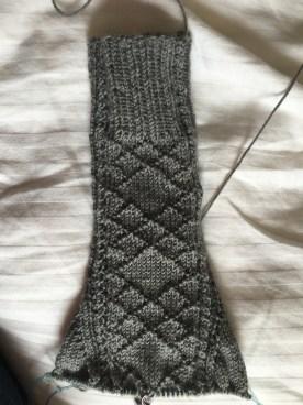 Tour de sock back side
