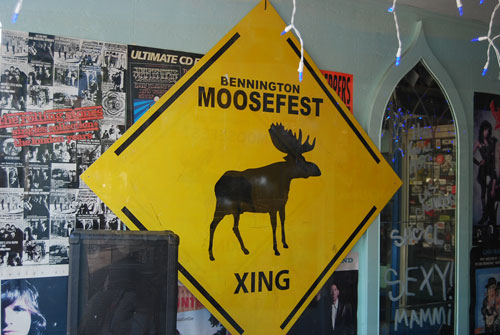 Even the moose get their own crossing in Bennington, VT