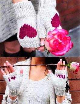 be my valentine fingerless gloves knitting pattern i heart you 6