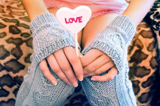 heart warmers knitted legwarmers knitting pattern 5