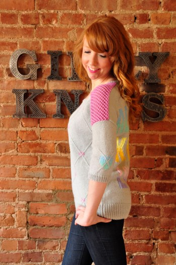 all you knit is love side