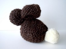 Knit Easter Bunny