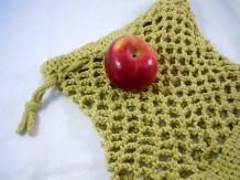 Mesh Produce Bag with Drawstring