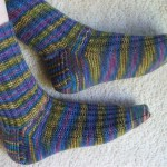 Garter Rib Socks