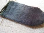 BFL Handspun Sock