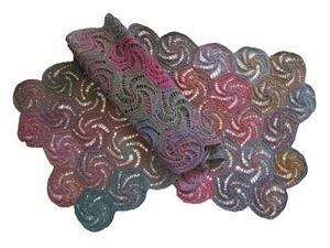 Swirl Shawl by Jojoland in Superwash Melody