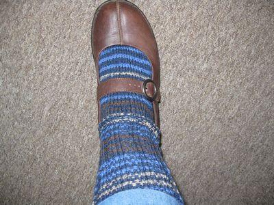 Bungee Sock In the Shoe
