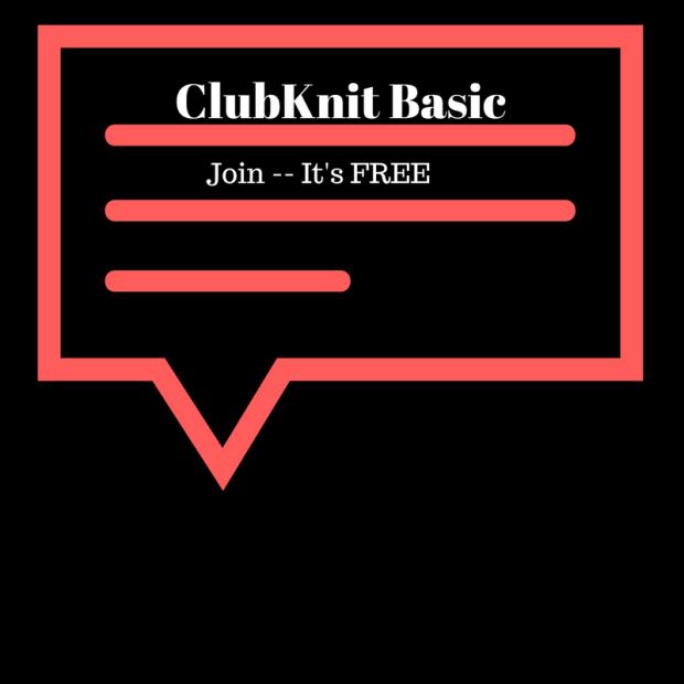 Join ClubKnit Basic (Free)
