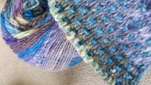 Noro Ito in Nightshift Shawl
