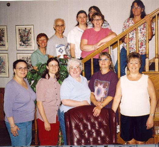 iwannknit retreat attendees from 2003