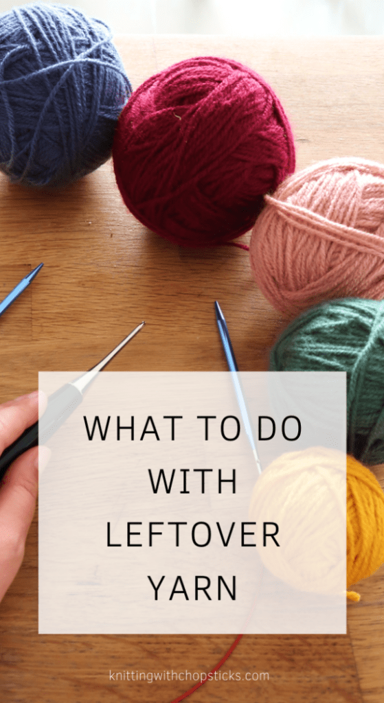 What to do with leftover yarn: 111 Free scrap yarn projects