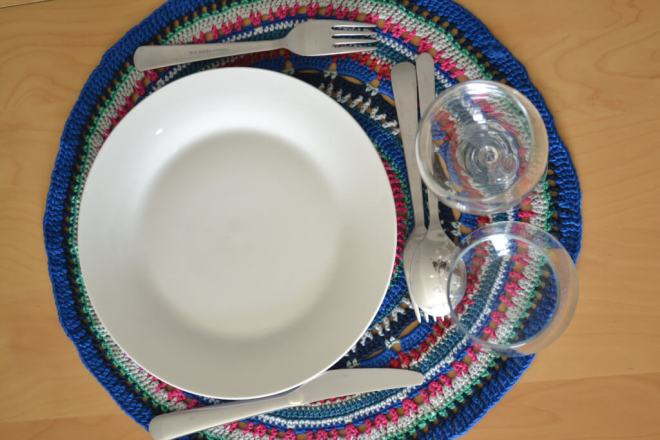 free crochet pattern for placemats