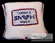 thanks snow much cushion