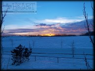 snowy sunsets ❤ #8