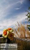 summer sweetie ❤ flowers & knit birdie