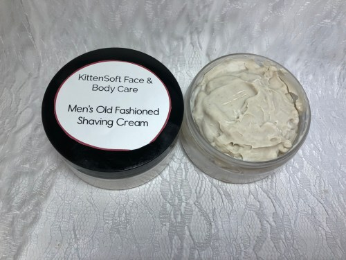 Shave soap for men