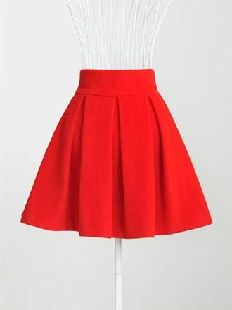 Выкройка юбки в складку на кокетке для девочки построение