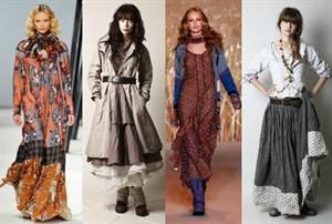 Выкройки бохо: стильная юбка и другие наряды для полных ...