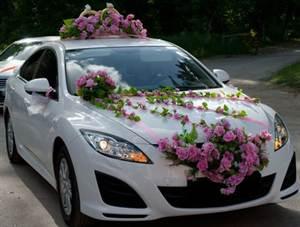 Украшение на машину своими руками на свадьбу: мастер-класс ...