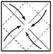 lotos_02 Ананас оригами из модулей. Ананас и цветок лотоса из салфеток: оригами из модулей