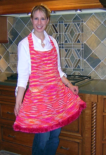 Free Knitting Patterns for your kitchen. What a better way to re-decorate your kitchen, than with your own knitting creations and using free patterns.
