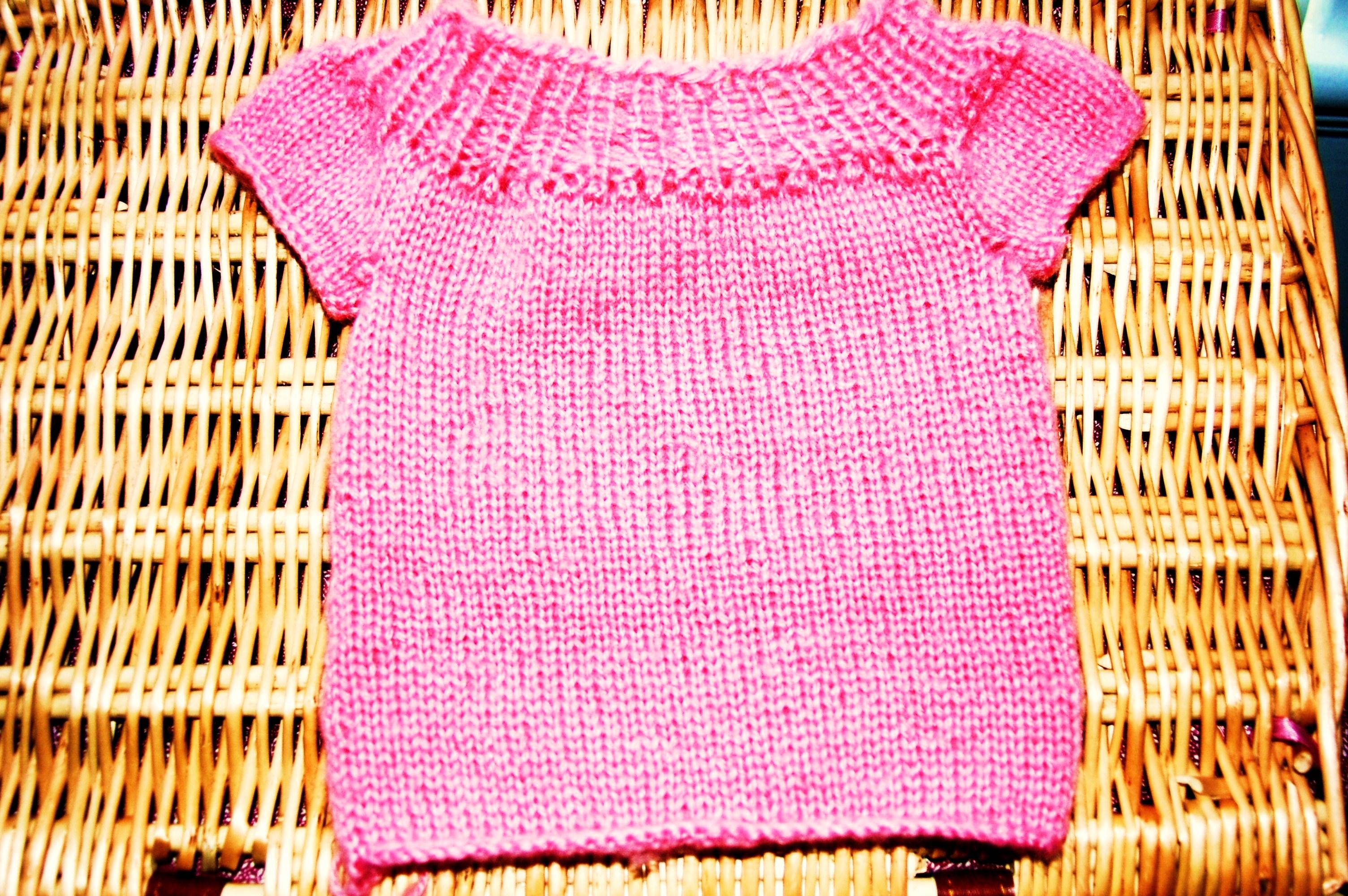 Pink Sweater 002