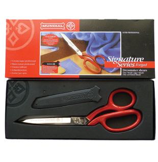 mundial-red-handle-scissors