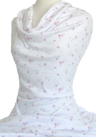 Knitwit Nightie Printed Interlock Knit Angela Pink
