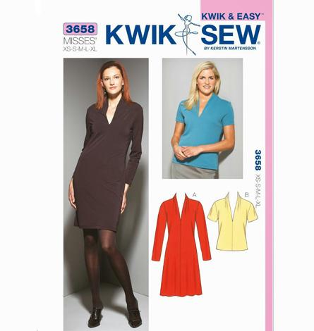 Kwik Sew Pattern 3658 - Knitwit