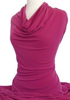 Knitwit Jersey Knit Fabric Casino Magenta