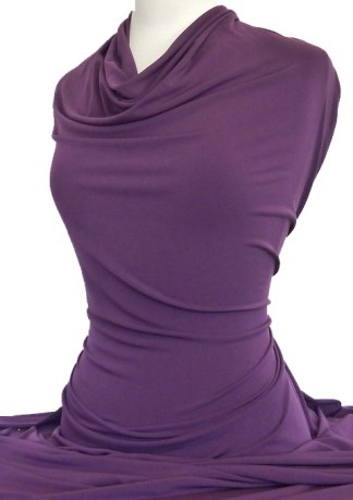 Knitwit Jersey Knit Fabric Casino Plum