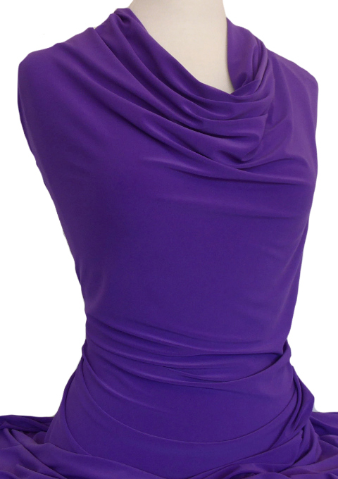 Knitwit Jersey Knit Fabric Casino Purple