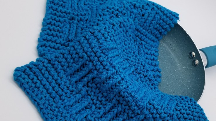 The Elk Creek Dishcloth from Knit So Easy