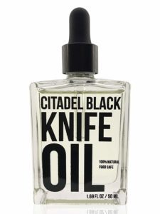 Natural Food Grade Knife and Blade Maintenance Oil