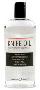 Thirteen Chefs Knife and Honing Oil