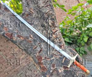 36 inches stainless steel sword wooden handle