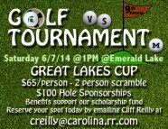 Great Lakes Cup Golf Tournament Promo