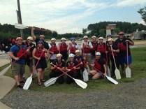 Amann Girrbach America Team Building Event WWC Rafting Class 4 Rapids