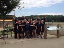 Amann Girrbach America Team Building Event WWC Rafting