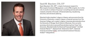 David M. Blanchett, CFA, CFP