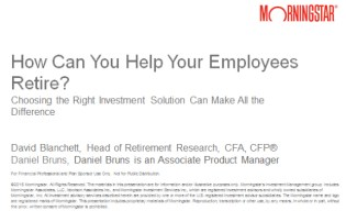 How Can You Help Your Employees Retire Webinar Title Slide