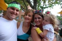 Karen Miller and family