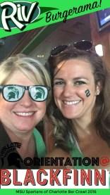 MSU Spartans of Charlotte Alumni Bar Crawl Snapchat Filter