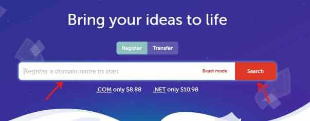 Step 1: Buy Domain Name from Namecheap